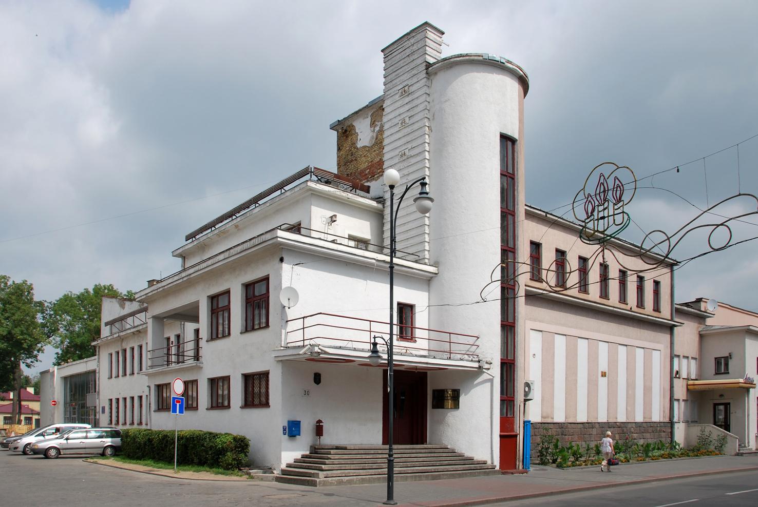 Kasyno w Grodnie, projekt Mieczysław Szczuka, rok budowy 1933